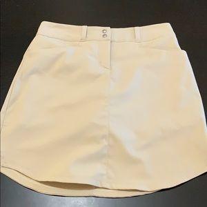 Adidas tan skirt/skort